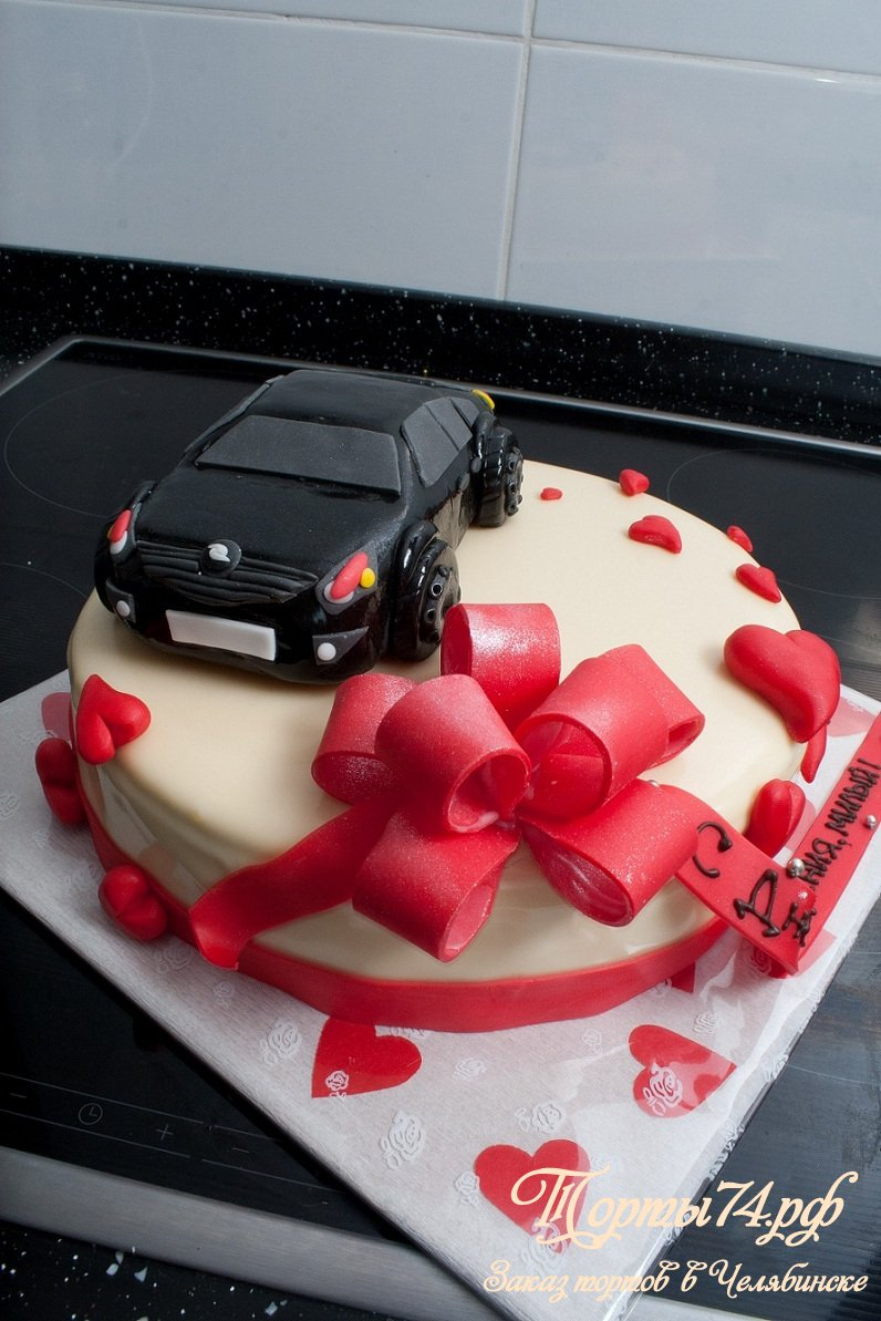 Торт в виде машины » Мастерская тортов и пирожных Челябинск ...