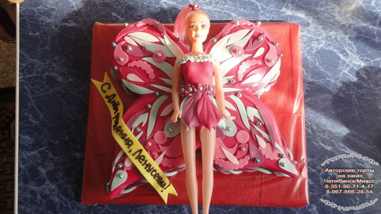 Детские торты торт винкс арт.25.  Авторские торты на заказ в Челябинске.