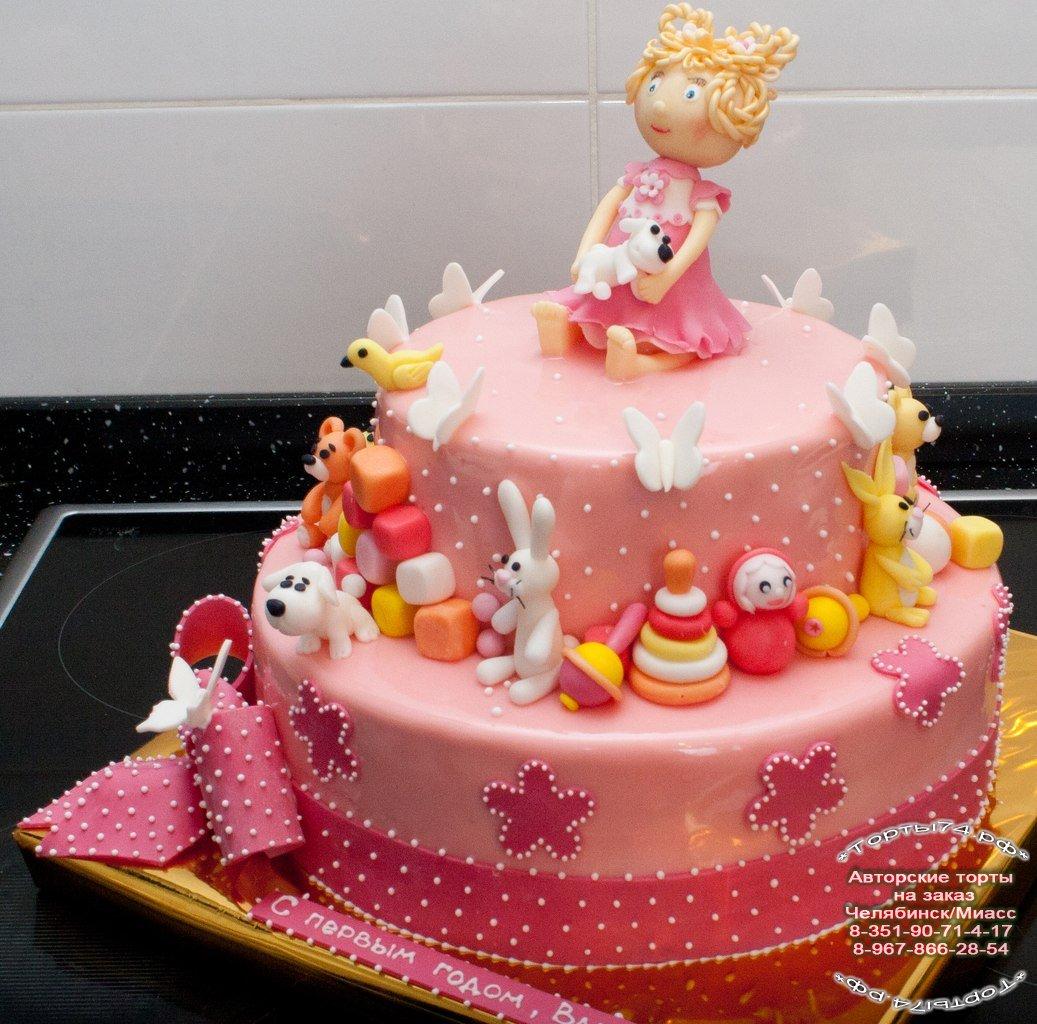 Торт для мальчика на 1 год своими