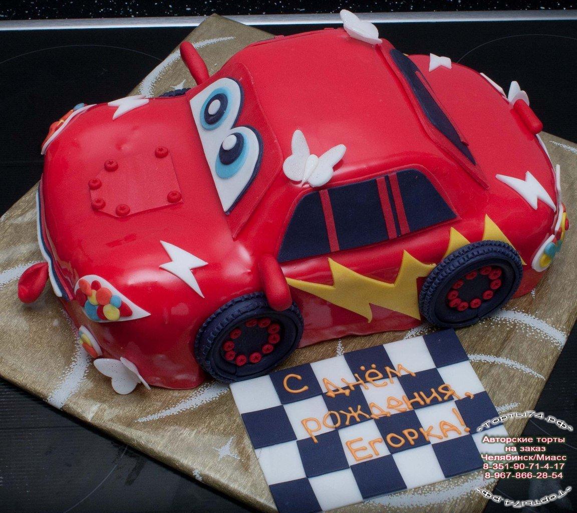 Как самой сделать торт в виде машины