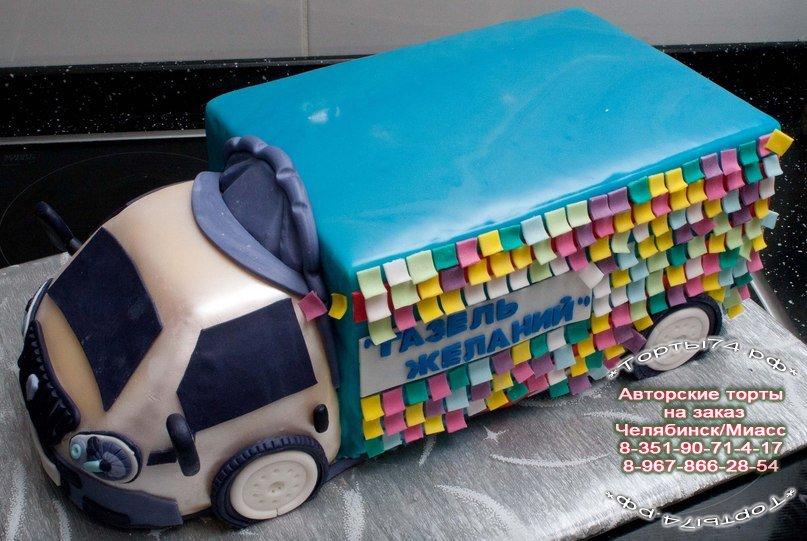 картинки тортов в виде машины