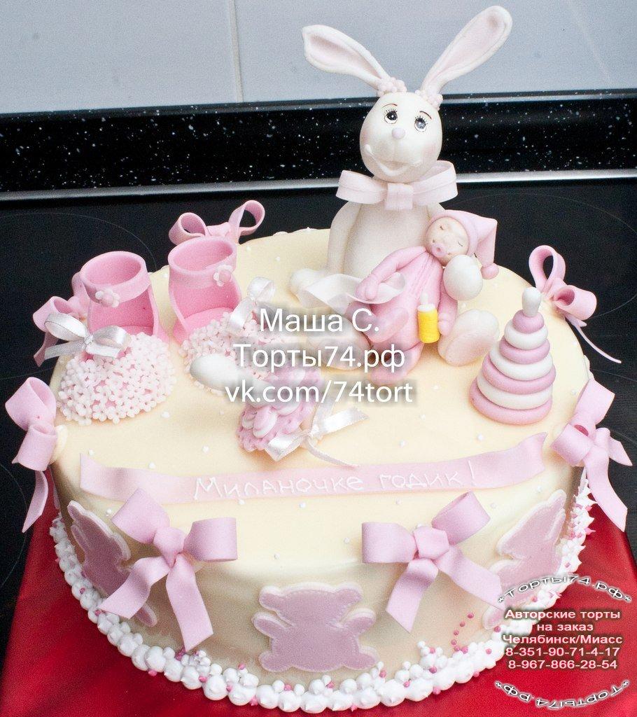 Детский торт торт с зайцем