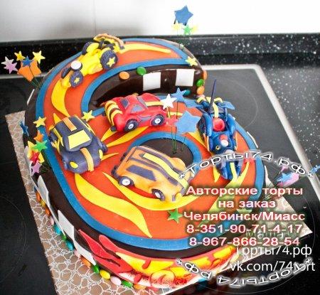 Фото торта для мальчика 7 лет