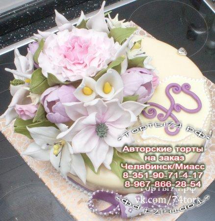 Торты цветы на заказ фото