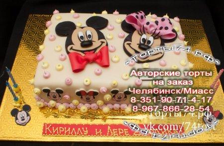 Тортики микимаус картинки